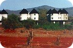 Treetops lodge in Tsavo hills