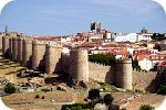 Walled city of Avila
